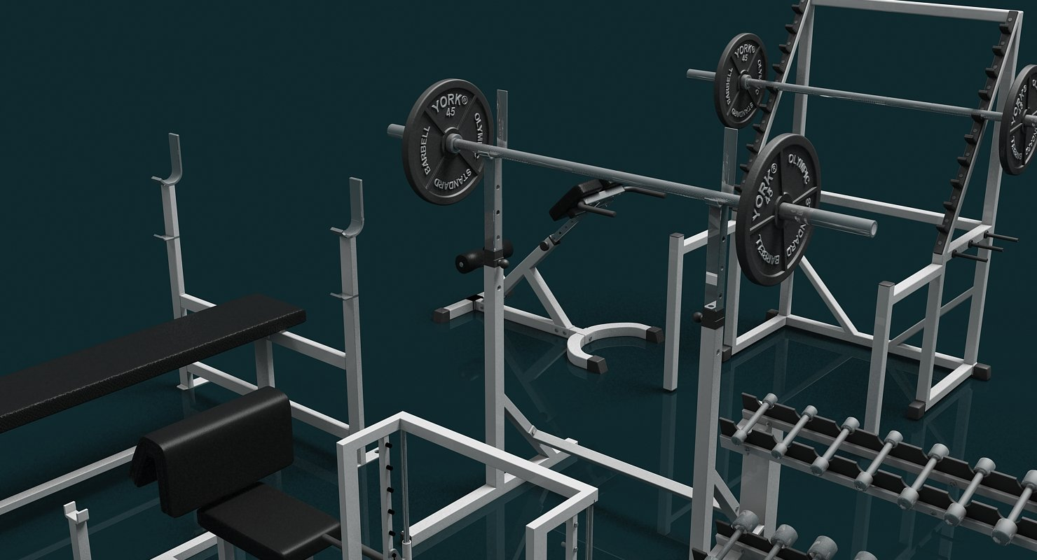 Gym Weight Collection - WireCASE