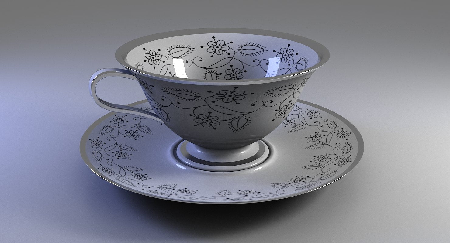 Tea Cup - WireCASE