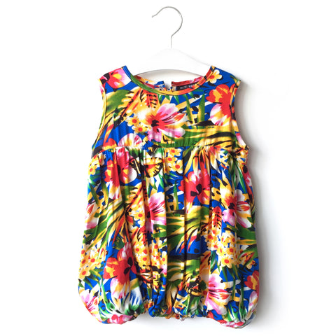 Hawaii Floral Bubble Dress