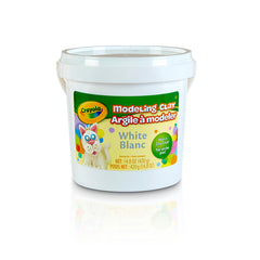 1 LB BUCKET MODELING CLAY WHITE