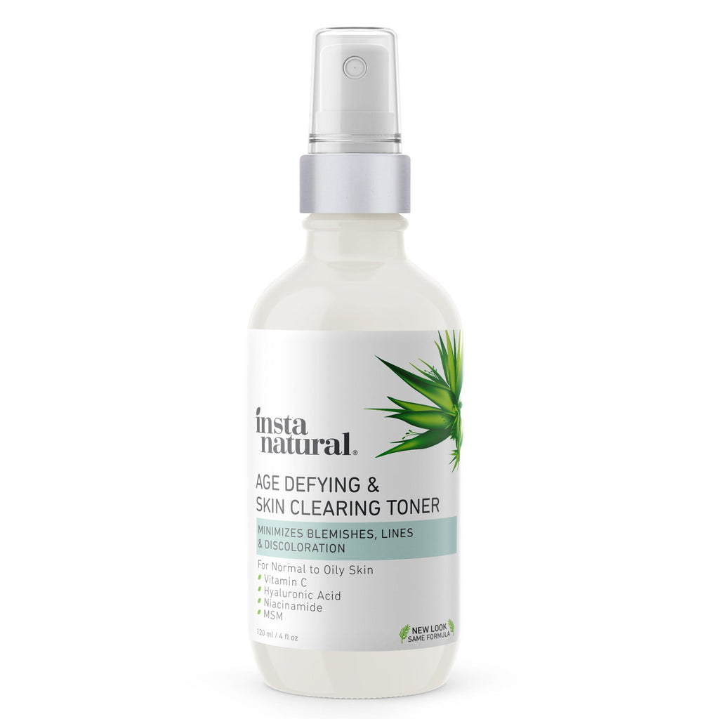 Age Defying & Skin Clearing Toner - InstaNatural
