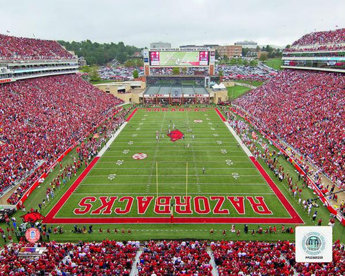 "Arkansas Razorbacks Donald W. Reynolds Razorback Stadium NCAA College Football 8"" x 10"" Photo"