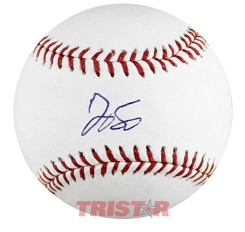 George Springer Houston Astros Autographed Rawlings Official MLB Baseball
