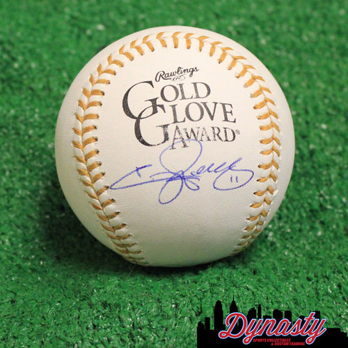 Philadelphia Phillies Jimmy Rollins Autographed Golden Glove Major League Baseball