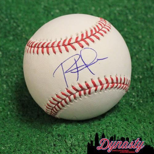 Philadelphia Phillies Rhys Hoskins Autographed Official Major League Baseball