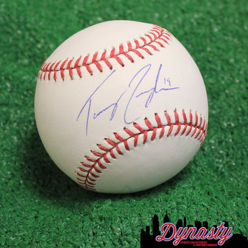 Texas Rangers Tommy Joseph Autographed Official Major League Baseball (White)
