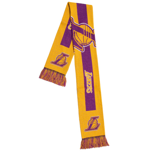 Los Angeles Lakers NBA Basketball Big Logo Scarf
