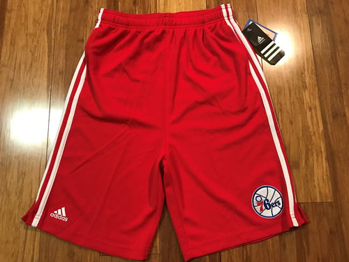 Philadelphia 76ers Adidas Youth Basketball Short