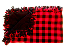 Red Buffalo Check Medium Blanket