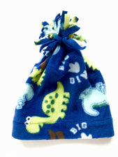 Dinosaur Baby and Toddler Fringe Hat