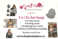 Citrus Lime 4 in 1 Car Seat Canopy