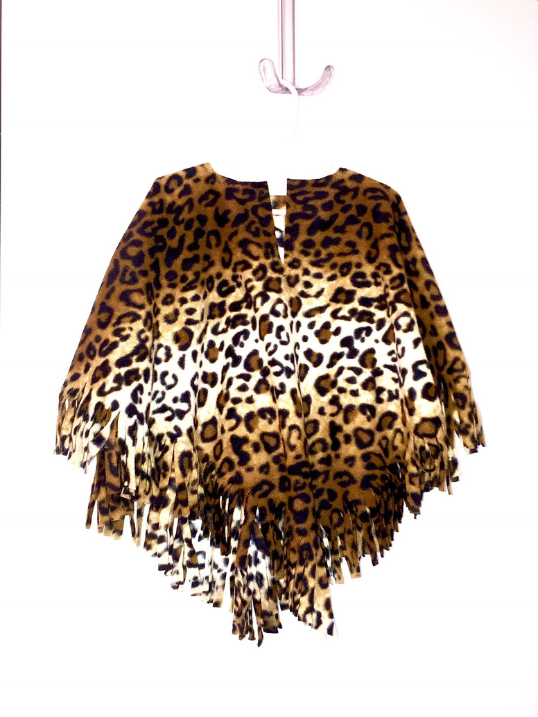 Leopard Toddler Poncho