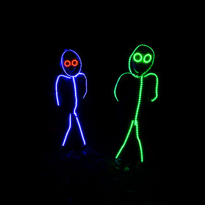 Kid's LED stickman costume
