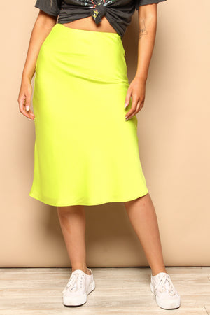 Glow For It Midi Skirt