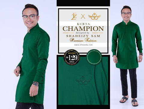 Emerald Champion Kurta