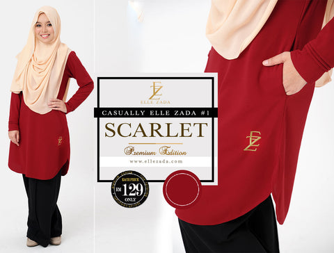 Scarlet Casual #1