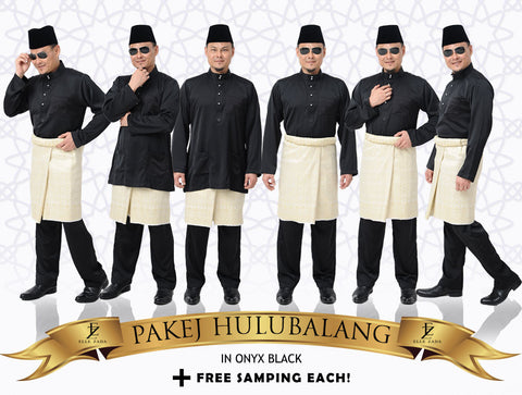 Hulubalang in Onyx Black