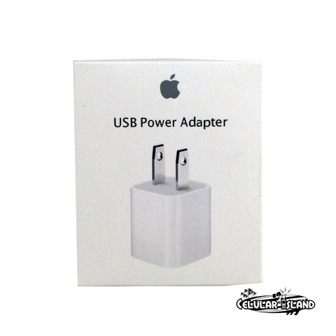 Adaptador de corriente USB de 5 W Apple Original