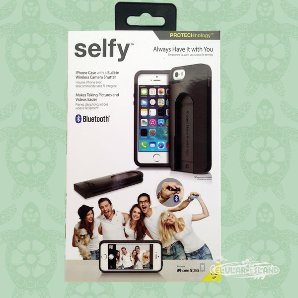 Protector Selfie Bluetooth iPhone 5