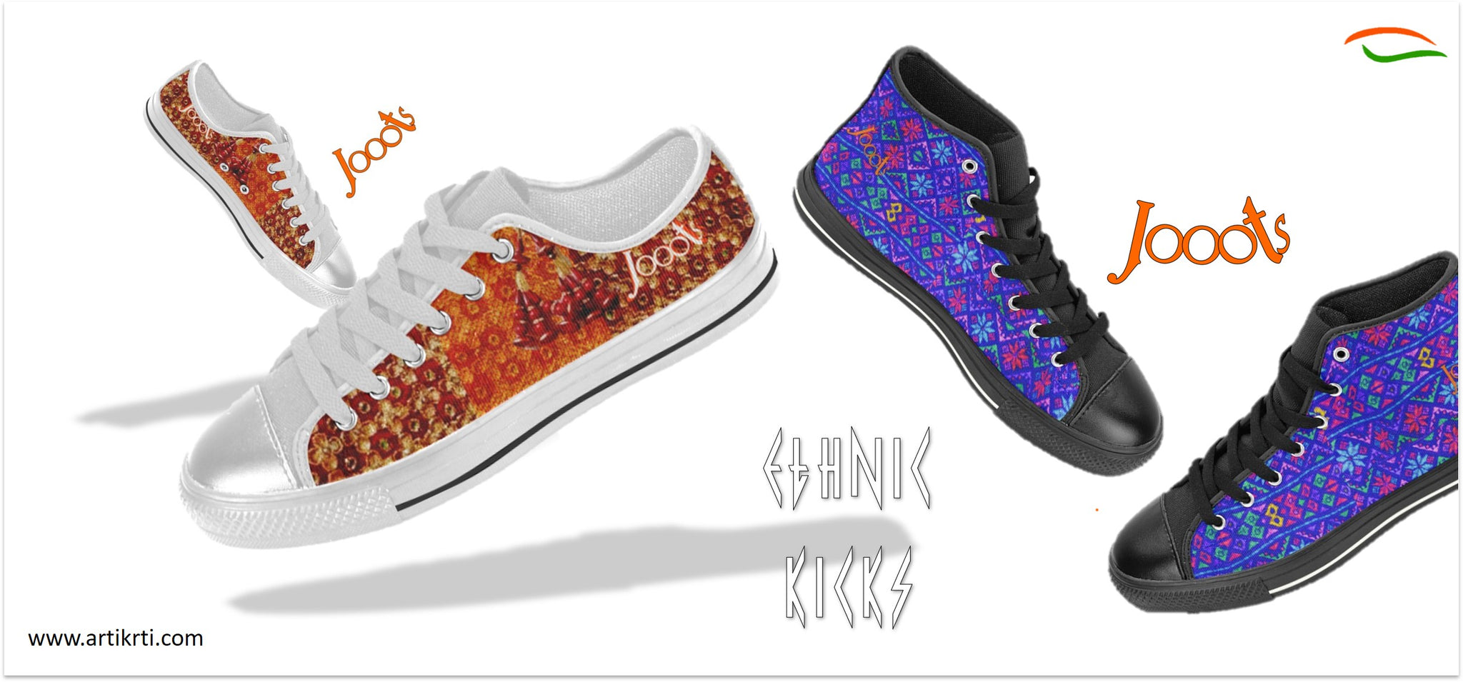 Jooots-ethnic-sneakers-high-tops-low-tops-for-girls-indian-designs-by-artikrti