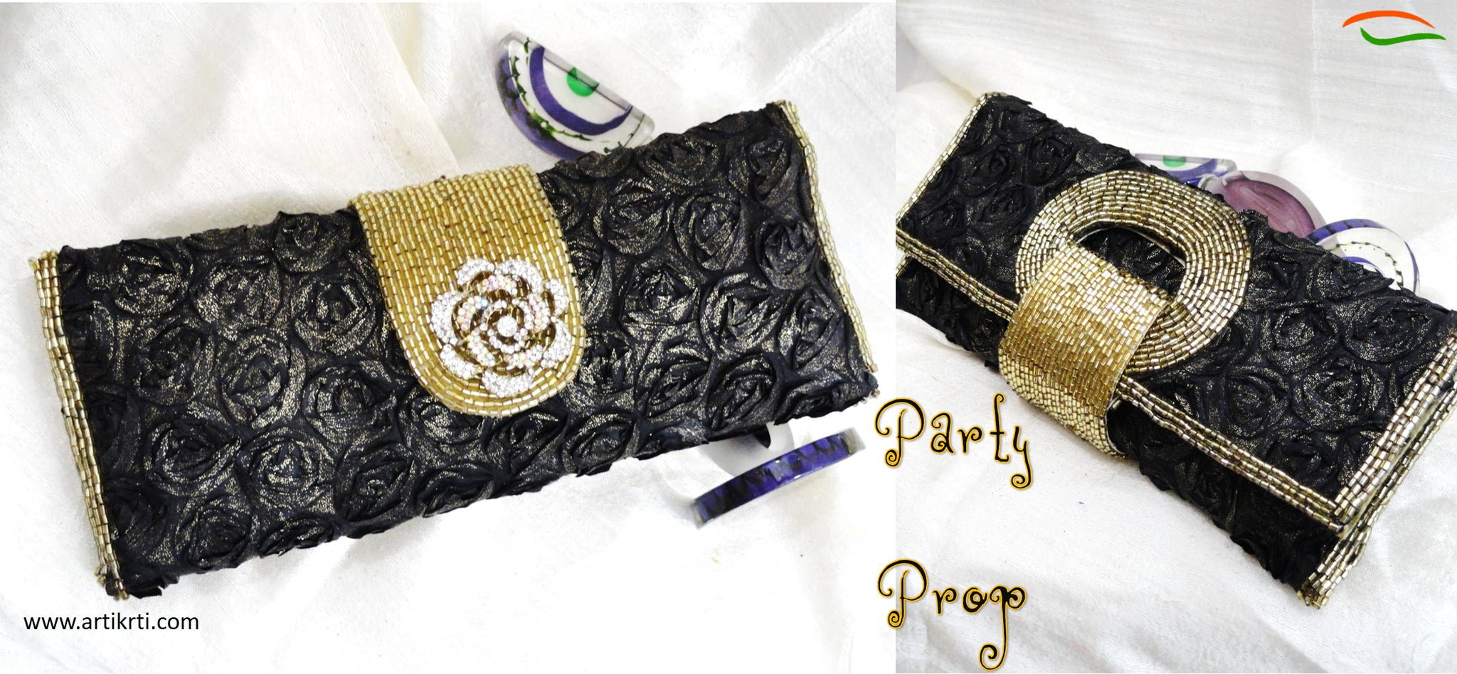 party-handbags-clutches-wrist-bags-leather-bags-indian-sequins-beads-silk-artikrti