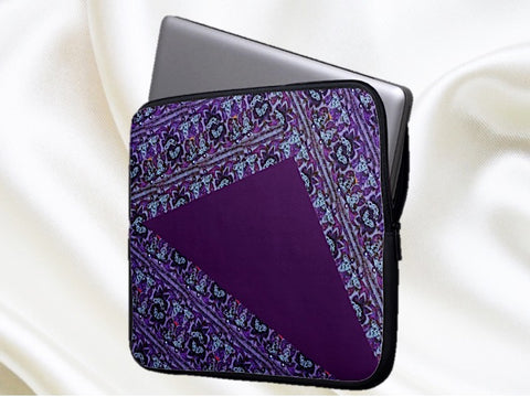 ladies laptop bag sleeve purple artikrti 1