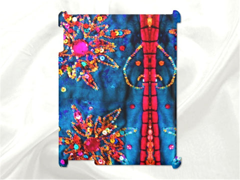 Cool Hard protective case for iPad and iPad Mini. Women's, ethnic, arty, Indian design. From Artkrti.