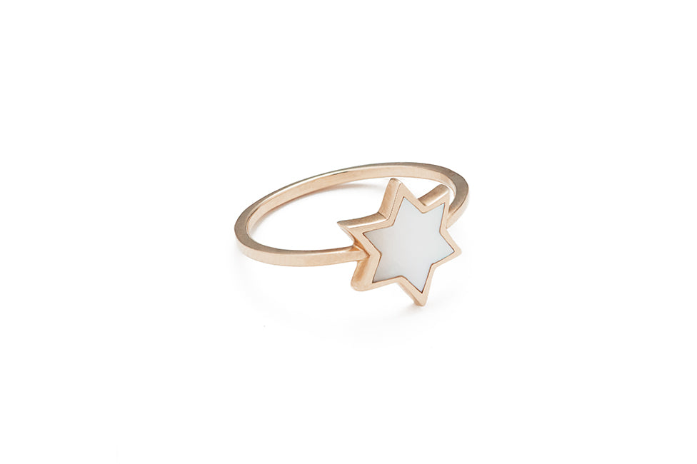 Spirit Star Mother of Pearl Ring
