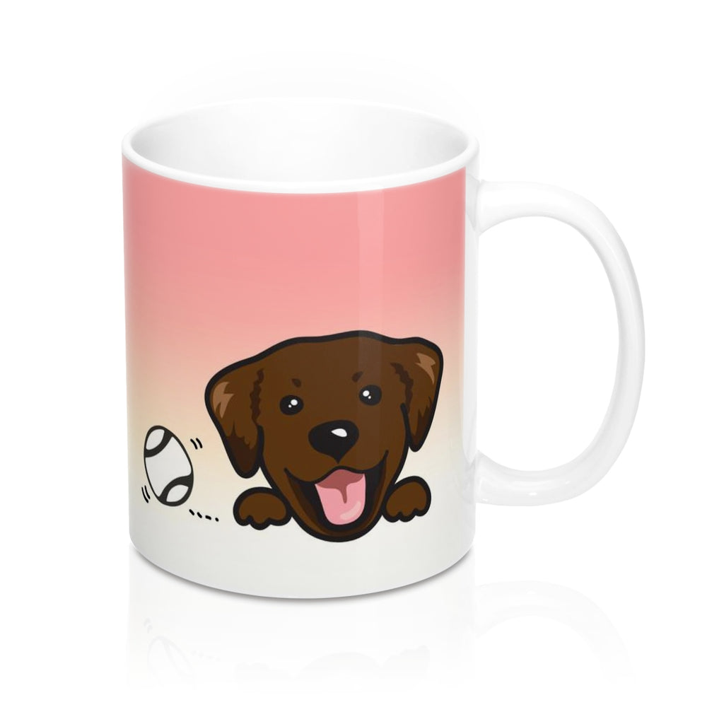 "Mug ""My Cup Of Tea"" Chocolate Labrador"