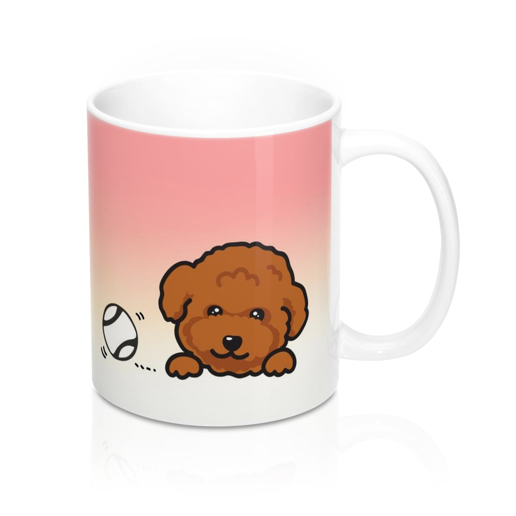 "Mug ""My Cup Of Tea"" Red Poodle"