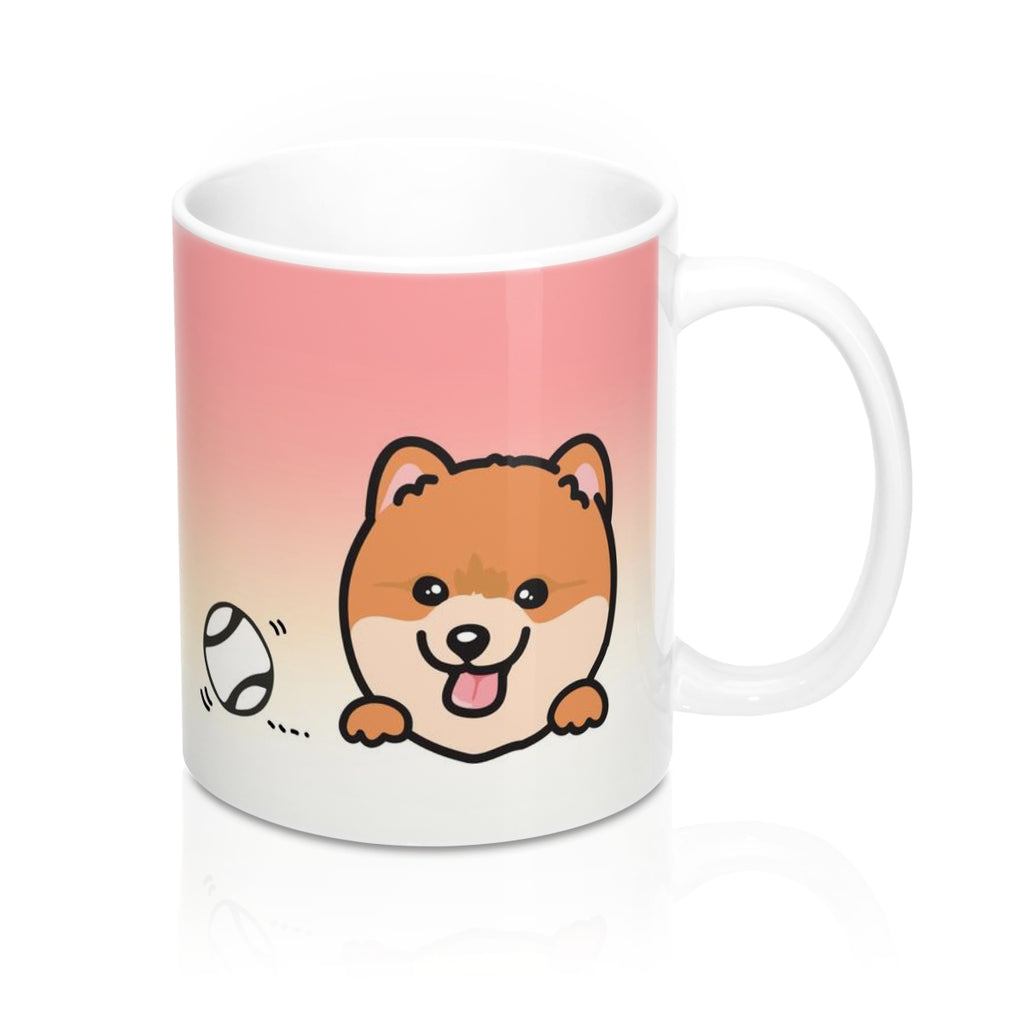 "Mug ""My Cup Of Tea"" Orange Pomeranian"