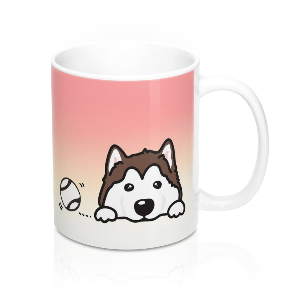 "Mug ""My Cup Of Tea"" Husky"