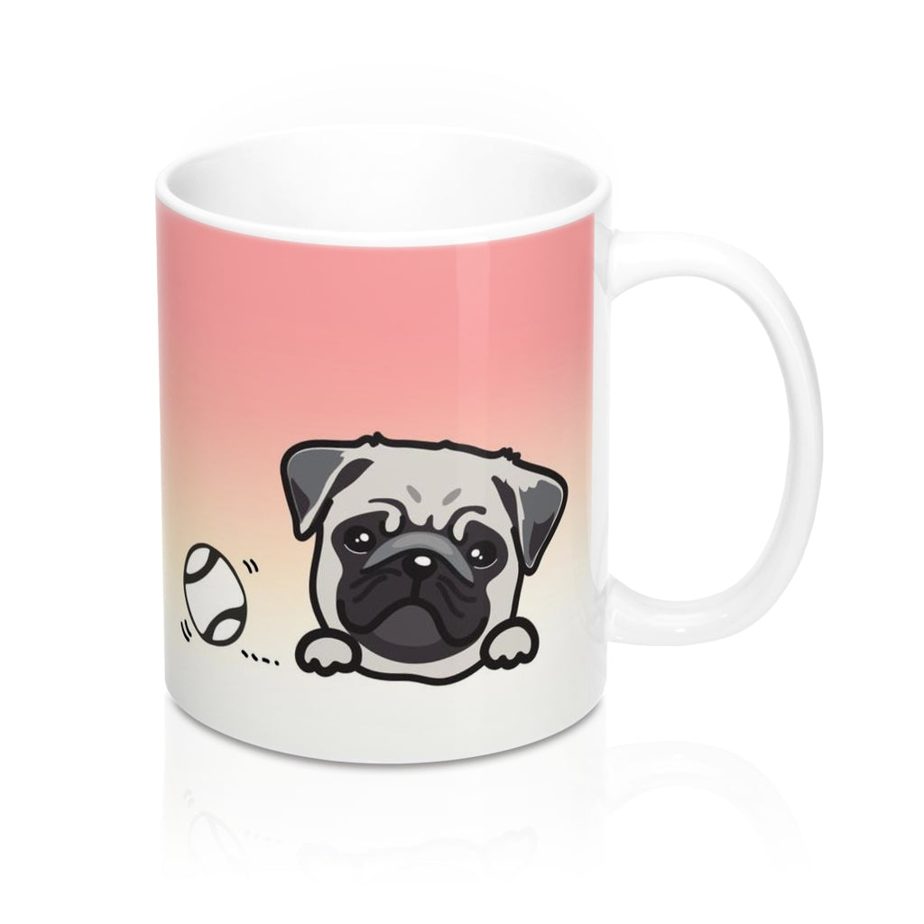 "Mug ""My Cup Of Tea"" Pug"