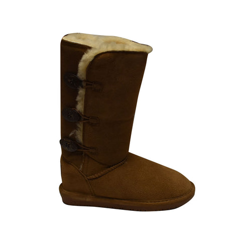 Bearpaw Women's Lauren - Hickory Outer Side