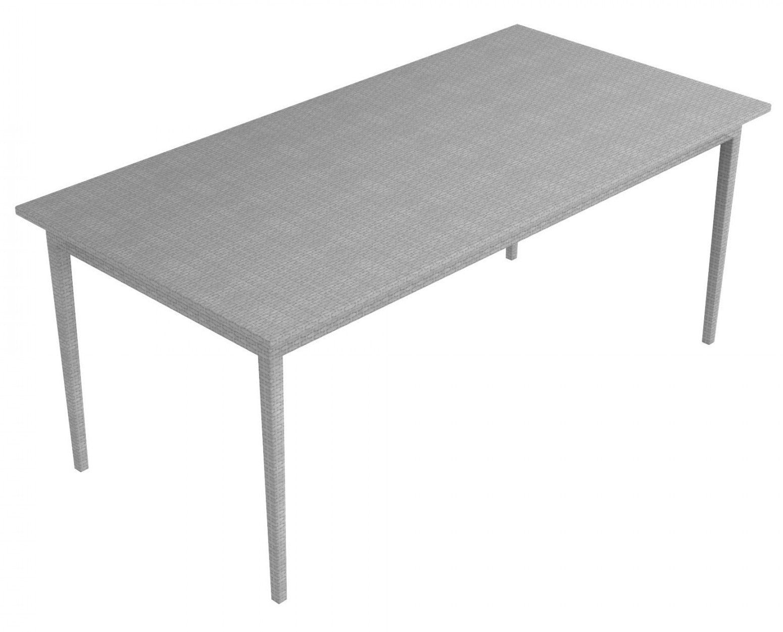 Sunlace WaProLace rectangular table 90 x 180 cm