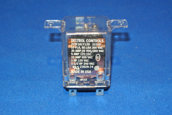 12VDC SPST NC Contacts Relay