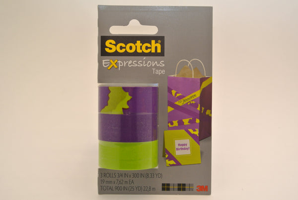 3 Pack Expressive Tape