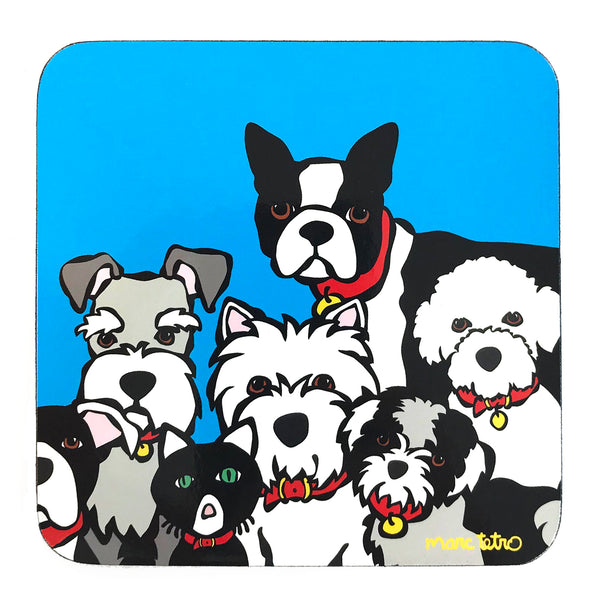 Dog Group Coaster