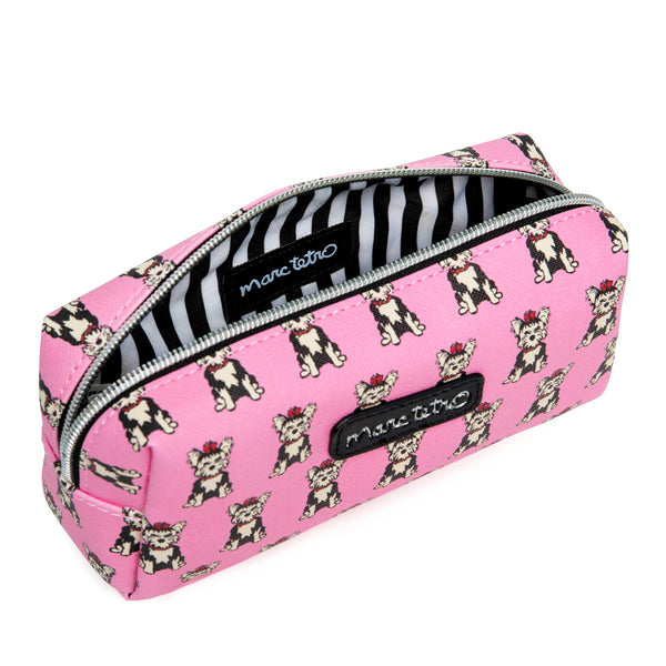 Yorkies Cosmetic Case - Small