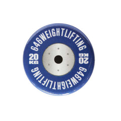 Weightlifting Discs Buttons