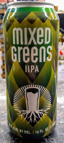 BURGEON BEER CO. MIXED GREENS DOUBLE IPA 16oz can