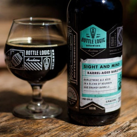 Bottle Logic Sight And Mind Barleywine 500ml LIMIT 1