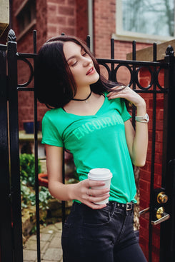 Women's ENCOURAGE T-shirt (Green)
