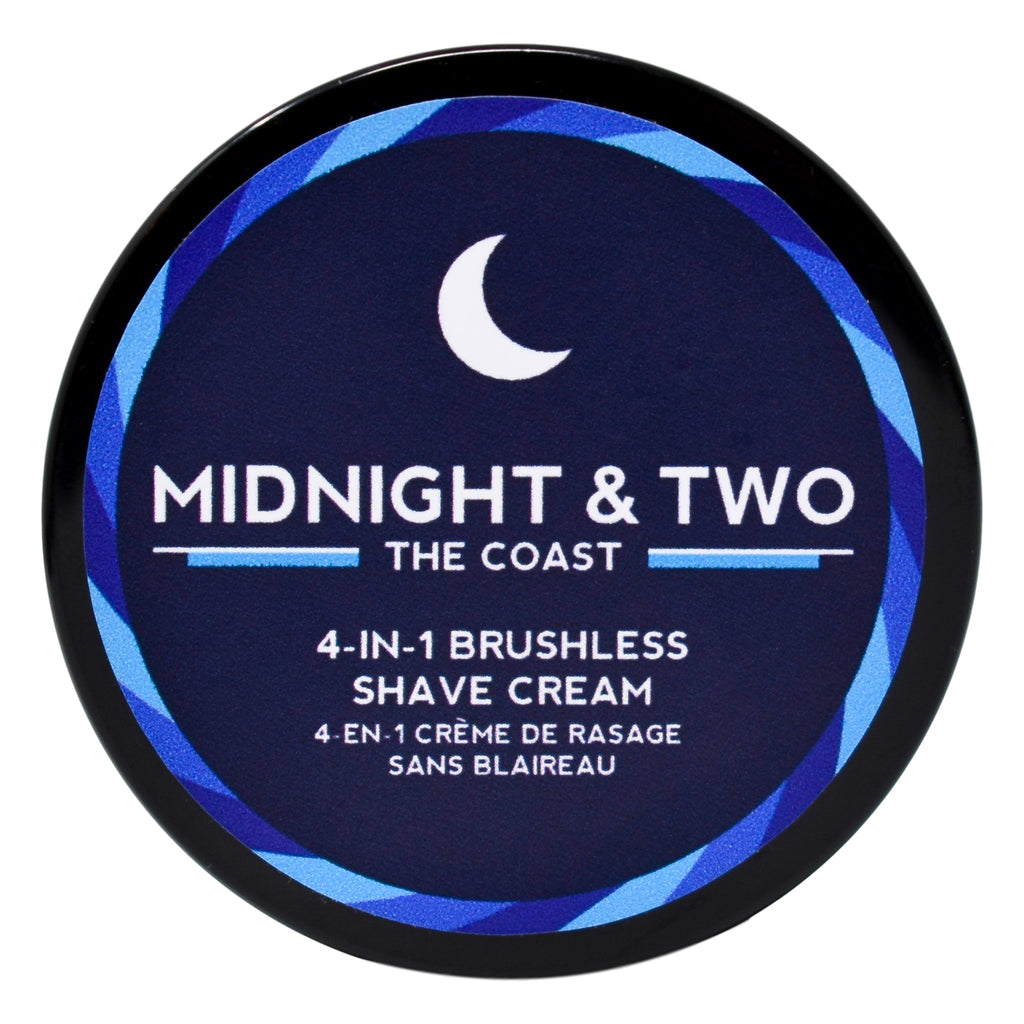 4-In-1 Brushless Shave Cream - The Coast