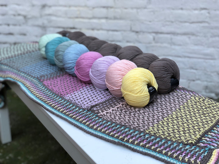 Knotten Colors Call 2019 - patroon buitenrand