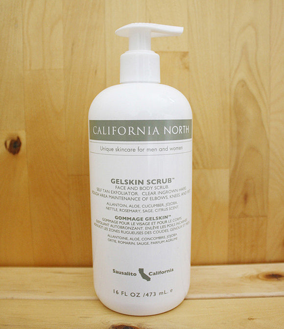 California North Gelskin Scrub (GSS) 16 oz. Pump Bottle