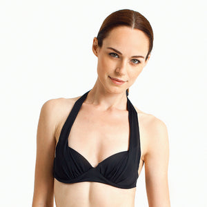 Jimbaran Halter - Black - August Society  - 1