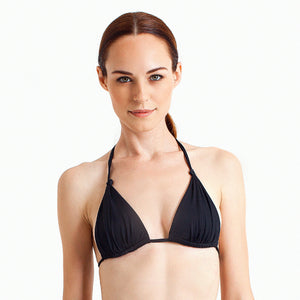 Laguna String Top - Black - August Society  - 1