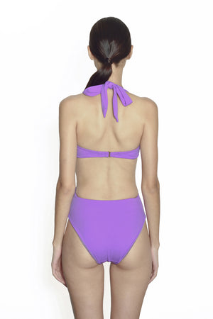 Maldives Wrap One Piece - Lilac - August Society  - 2