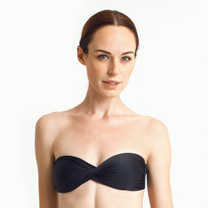 Zanzibar Bandeau - Black - August Society  - 1